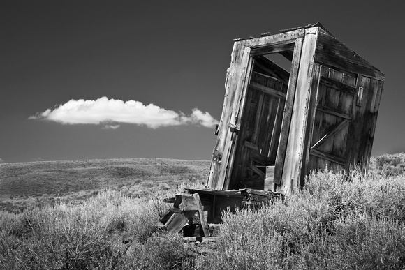 Forgotten Outhouse - Bodie